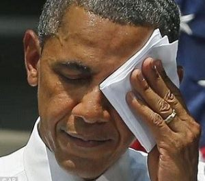 obama with hankie